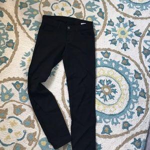 Siwey black ankle cropped skinny jeans